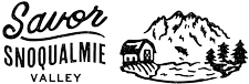 Savor Snoqualmie Valley Logo